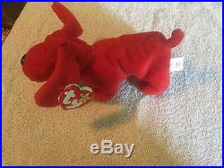 Ultra RARE Original TY Rover Beanie Baby, Retired, With Many Errors