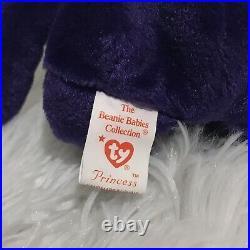 Ultra Rare Princess Diana Ty Beanie Baby Original 1997 Dark Purple New