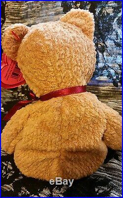 Ultra Rare Retired Ty Beanie Baby Curly Bear 039 11 Errors Mint Condition