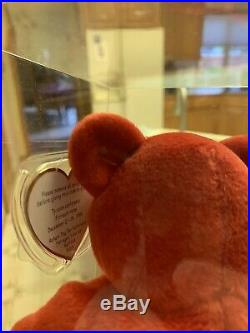 Ultra Rare Ty Beanie Babies #1 Bear. Low Number #61/253 MWMT MQ