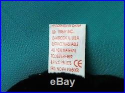 Unbelievable RARE BUBBLES Ty Beanie Babies PVC FIN & TUSH TAG MAJOR ERRORS