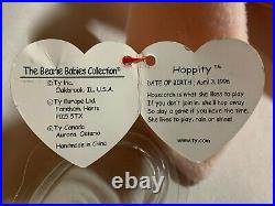 VERY Rare Original 1996 Hoppity Ty Beanie Baby With 7 Errors Excellent Condition