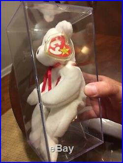 Valentino beanie baby rare Errors tags Ty tag 1993 Brown Nose PVC