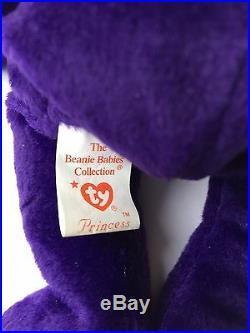 Very Rare Beanie Baby 1997 Princess Diana Ty Memorial Fund