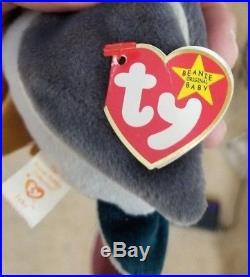 Very Rare TY Beanie Baby Jake (multiple errors)