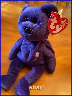 Vintage Rare 1997 TY Princess Diana Beanie Original Baby