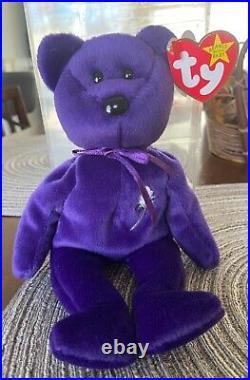Vintage rare Ty princess diana original beanie baby 1997